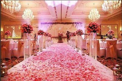 2000//1000pcs Multi Colors Silk Flower Rose Artificial Petals Wedding Decorations