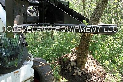 NEW HD TREE & POST PULLER ATTACHMENT Skid Steer Loader Bush Ripper Bobcat  Cat