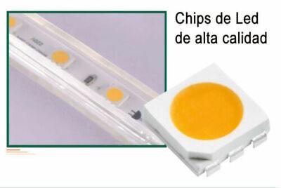 TIRA DE LED MANGUERA LUZ 220V INTERIOR IP65 ALTA ILUMINACION (120 Luces/Metro) 2