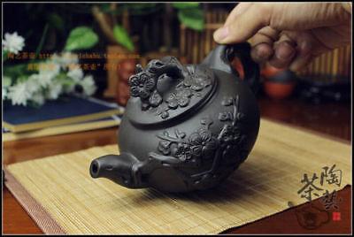 Kung Fu Pot Cup Set Chinese Porcelain Yixing Teapot Tea Pot 400ml + 3 Cups 60ml 4