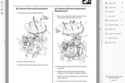 Factory Workshop Service Repair Manual Acura Rsx 2001 2006 Wiring Diagrams 6 91 Picclick Uk