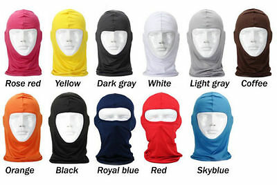 Outdoor Cycling Motorcycle Ski Neck Protecting Lycra Balaclava Full Face Mask GG 4