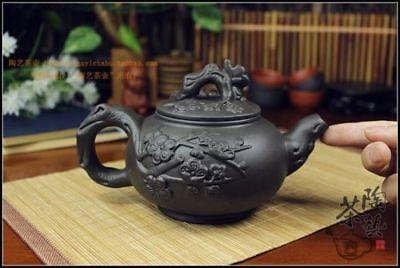 Kung Fu Pot Cup Set Chinese Porcelain Yixing Teapot Tea Pot 400ml + 3 Cups 60ml 3