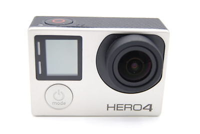 GoPro Hero 4 Silver Edition Camcorder CHDHY-401 With Touch Screen + 40 Pieces 3