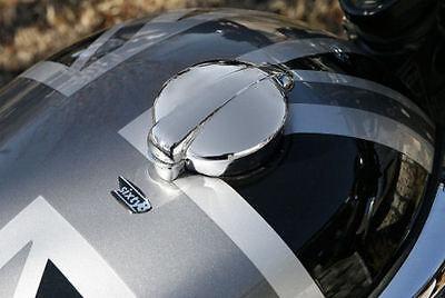 TRIUMPH Bonneville Monza Style Fuel Cap Alloy With Hinckley Gas Tank Adapter
