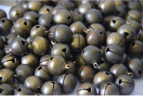 Wholesale Bronze Metal Brass Jingle Bells Pendant Charm Craft Beads Making DIY 5
