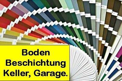 1 Von 2 ALLE U003d GRAUE Beton Boden Beschichtung Farbe Hallenboden Stapler  Befahrbar Garage