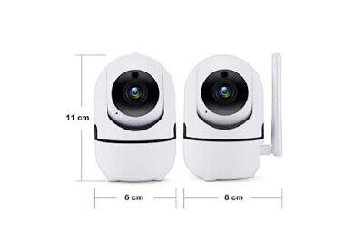 Wireless Telecamera HD 1080P WiFi IP Camera MOTORIZZATA RETE INTERNET 360 IR 2