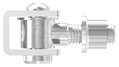 Torband Stahl verstellbar M12 16 14 mit Einschweißmutter Anschweißband
