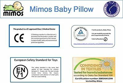 MIMOS Baby Pillow S(Was XL) for flat head (Plagiocephaly) -Air flow Safety 1-10 7