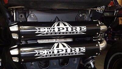 EMPIRE INDUSTRIES SLIP on Exhaust for Polaris RZR XP 1000  (EMP-XP1K-SLP_polish )