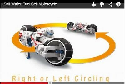 OWI-753 SALT WATER Fuel Cell Motorcycle DIY Kit AGES 8+ **SAME DAY  SHIPPING!!!!!