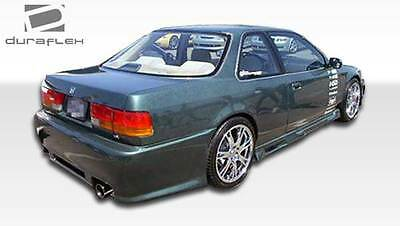 96-97 Honda Accord 2//4DR Duraflex Spyder Rear Bumper 1pc Body Kit 101713