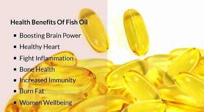 brain focus - OMEGA 8060 Fish Oil 1500mg - fish oil omega 3 - 2 Bottles 7