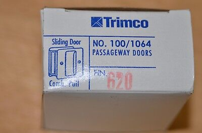 trimco Sliding Door Pull pocket door pull 100 620 satin nickel finish passage