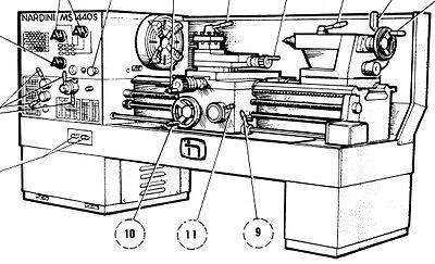 NARDINI MS-1400/TR MS-1600/TR Metal Lathe Instructions & Parts ... on graziano lathe wiring, leblond lathe wiring, supermax lathe wiring,