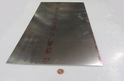 """1100 Aluminum Sheet Softened .020/"""" Thick x 12.0/"""" Wide x 12.0/"""" Long O"""