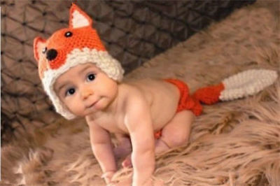 Newborn Baby Girl Boy Crochet Knit Costume Photo Photography Prop Hats Outfits 4