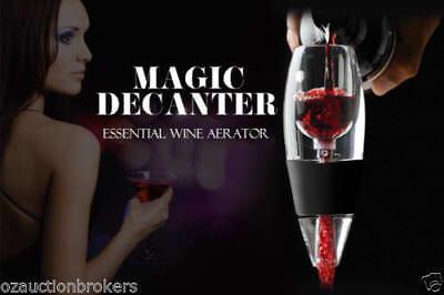 AU Magic Decanter Essential RED Wine Aerator and Sediment Filter 4