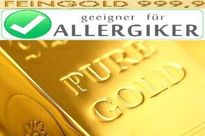 Piccolo Kopf Gold 24 karat 999 Gold Piccolo-ottavino ORO Flûte Piccolo  OR