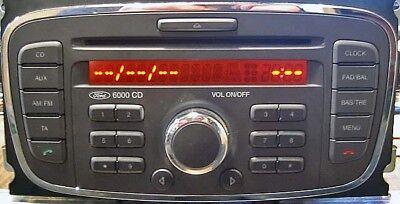 Ford V series Radio Code , 10 min service ,focus, transit, fiesta, V serial 2