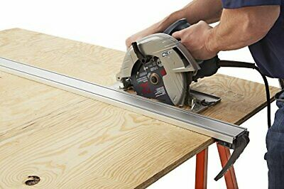 """Heavy Gauge 50"""" Clamp Edge Saw Guide w/ Locking Handle & Pads for Straight Cuts 2"""
