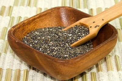 Chia Seeds 500g • Raw Whole Natural Dark • Omega 3 • Colon Cleanse Diet Detox 6