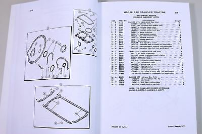 j i case 850 crawler tractor dozer parts manual catalog assembly  exploded views 4