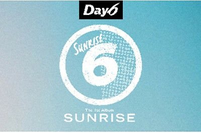 US SHIPPING Day6 Sunrise 1st Album CD+PhotoBook+ClearCover+LyricsBook+Card 3