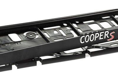 Honda Type R 2xECHTE 3D-Effekt Kennzeichenhalter Plate Nummernschildhalter