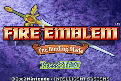 Fire Emblem 6: The Binding Blade Sword of Seals Game Boy Advance English GBA 2