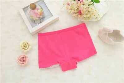 6 Pack Girls Boxer Shorts Underwear Briefs Cotton Knickers Age 2-10 Years 3