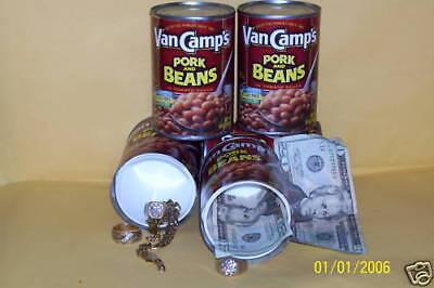 Diversion Can Safe,Secret Hidden Stash Compartment Box Vancamp's Pork & Beans 4