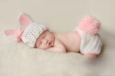 Newborn Baby Girl Boy Crochet Knit Costume Photo Photography Prop Hats Outfits 8