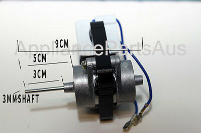 Frost Free Fridge Evaporator Fan Motor Universal [Reversible] 5