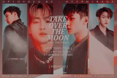 WAYV TAKE OVER THE MOON 2nd Mini Album CD+POSTER+Photo Book+2p Card K-POP SEALED 2