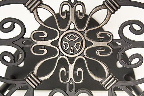Garden Decorative Cast Aluminum Wall Mounted Hanger 125-Foot Antique New 4