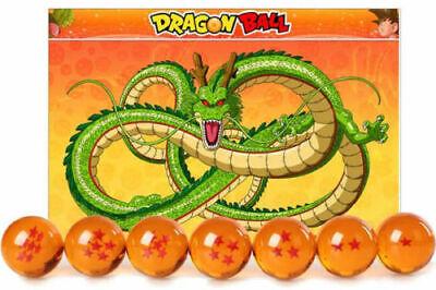 New 7Pcs Stars Dragon Ball Z Crystal Balls Set Collection In Box Set Gifts 7