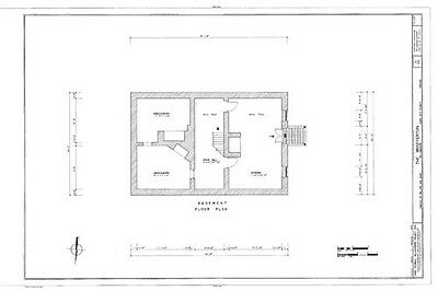 Authentic Williamsburg Colonial House, architectural home plans 3