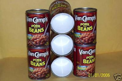 Diversion Can Safe,Secret Hidden Stash Compartment Box Vancamp's Pork & Beans 2