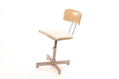Holz Bürostuhl schöner alter holz bürostuhl deco drehstuhl loft design