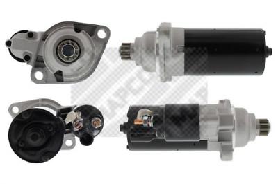 Anlasser/Starter MAPCO 13980 für AUDI SEAT SKODA VW 2