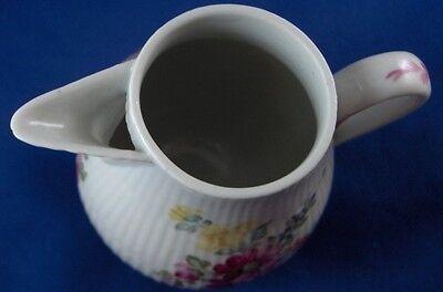 Antique 18thC Tettau Porcelain Floral Creamer Porzellan Milchkanne German