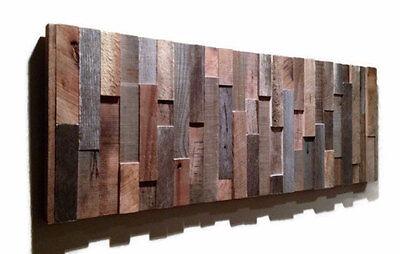 ... Handmade Barn Wood Wall Art Modern Abstract Artwork Unique Art Rustic Decor  sc 1 st  PicClick & HANDMADE BARN WOOD Wall Art Modern Abstract Artwork Unique Art ...