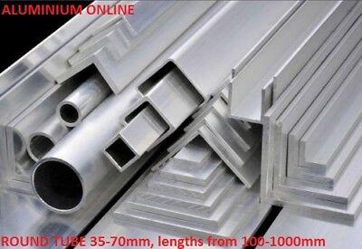 ALUMINIUM ROUND TUBE METRIC 48mm 50mm 55mm 60mm 65mm 4