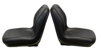 Arctic Cat Prowler Pair (2) Black Seats Replaces OEM# 1506-925 2