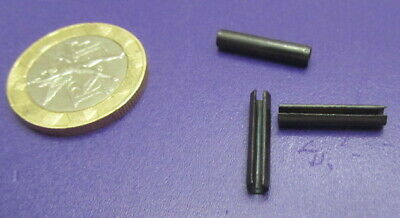 Steel Metric Slotted Spring Pin, M3 Dia x 16 mm Length, 200 pcs 8