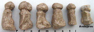 Serie of 6 paleolithic Venuses  - casts of resin 3