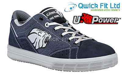 60c5b7774c1 NEW MENS U-POWER Safety Boots Trainers Shoes Steel Toe Cap Water Resistance  Size