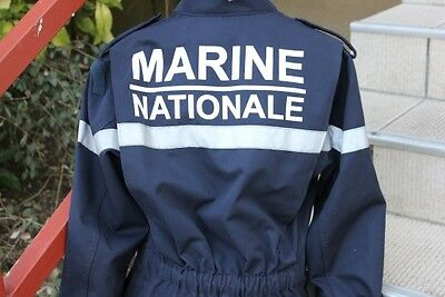 Combinaison Marine Nationale Neuve / New National Marine Coverall 2